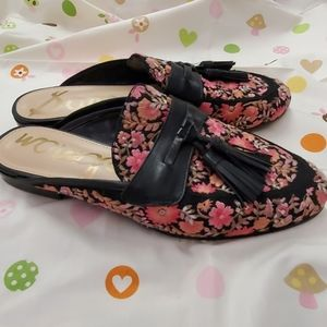 Sam Edelman shoes pink floral women's size 9